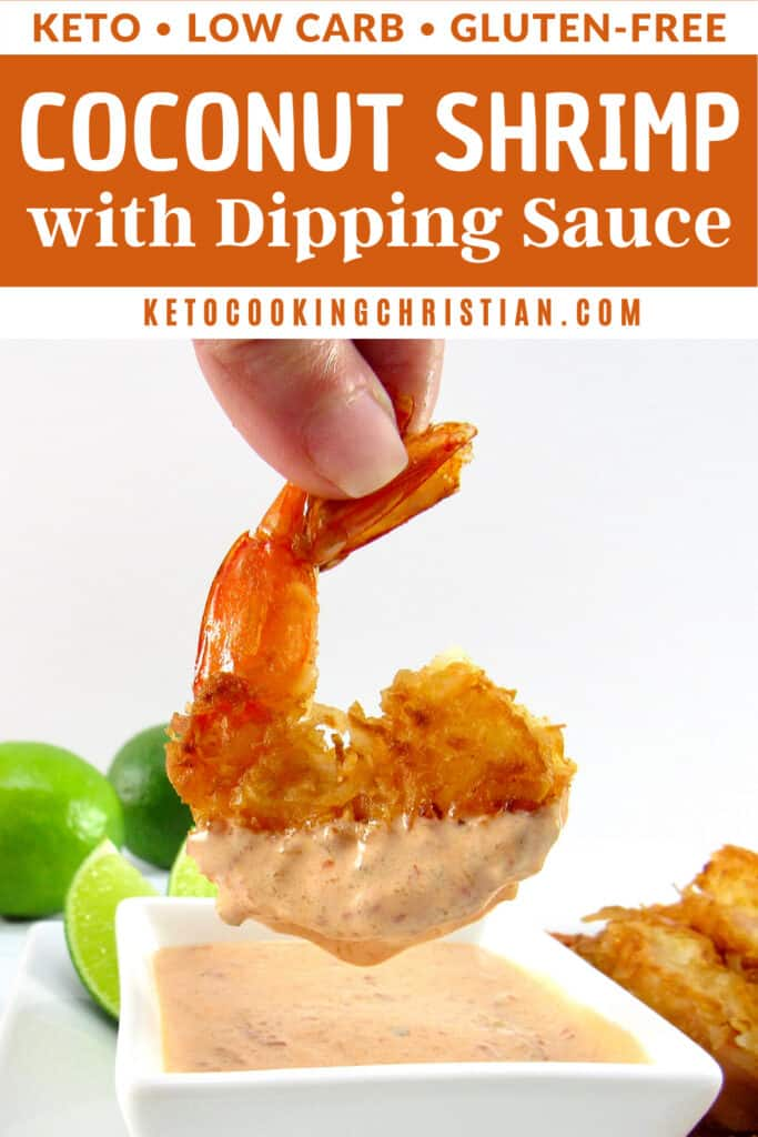 PIN Keto Coconut Shrimp with Dipping Sauce