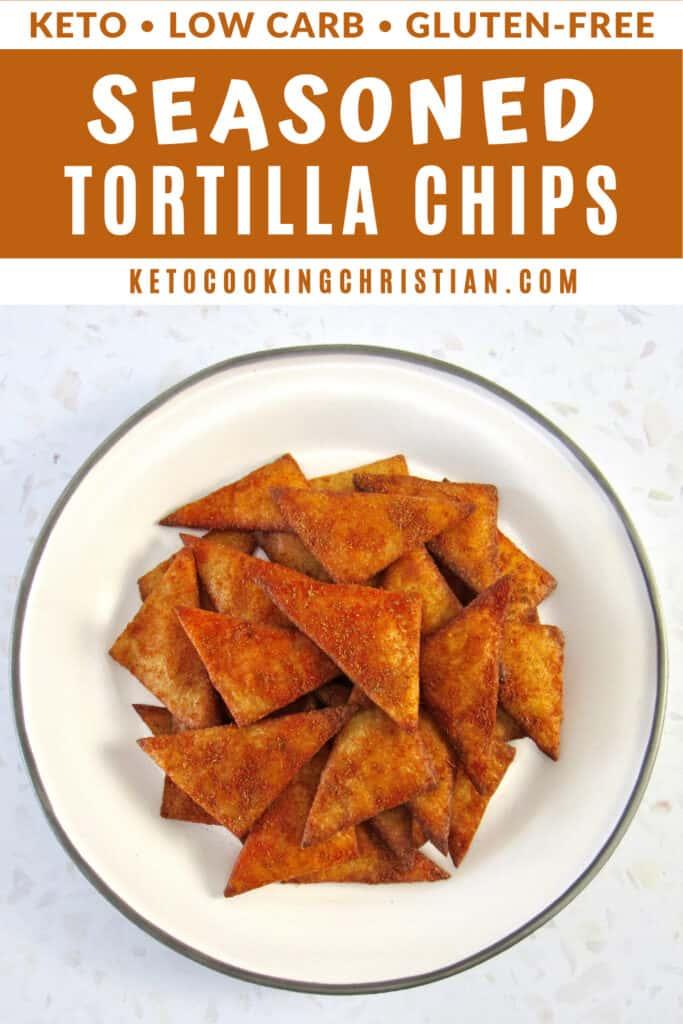 PIN Keto Seasoned Tortilla Chips - Gluten-Free