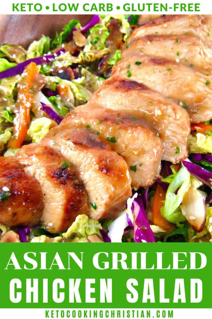 PIN Asian Grilled Chicken Salad