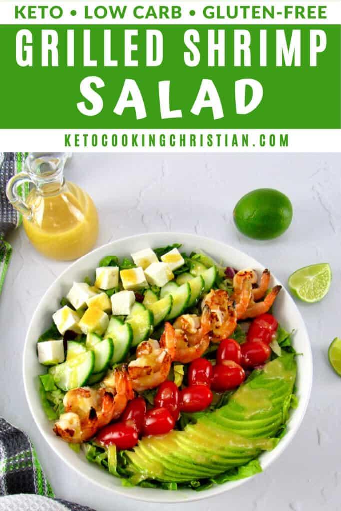 PIN Grilled Shrimp Salad with Apricot Vinaigrette