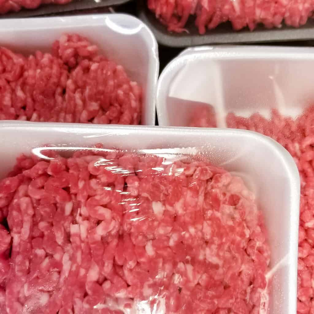 Ground Pork in Packages