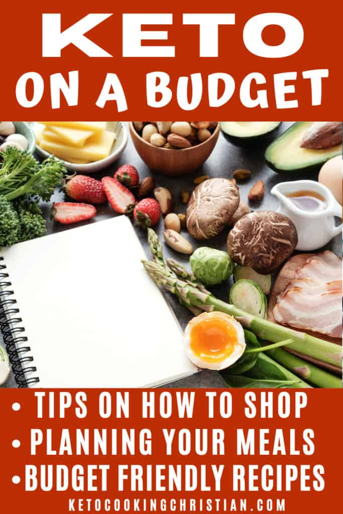 PIN Tips for Keto on a Budget
