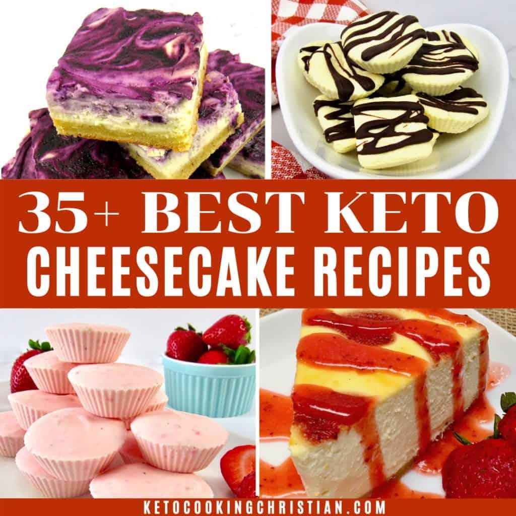 35+ Best Keto Cheesecake Recipes
