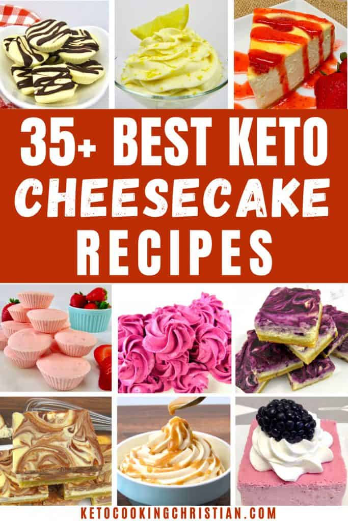 PIN 35+ Best Keto Cheesecake Recipes
