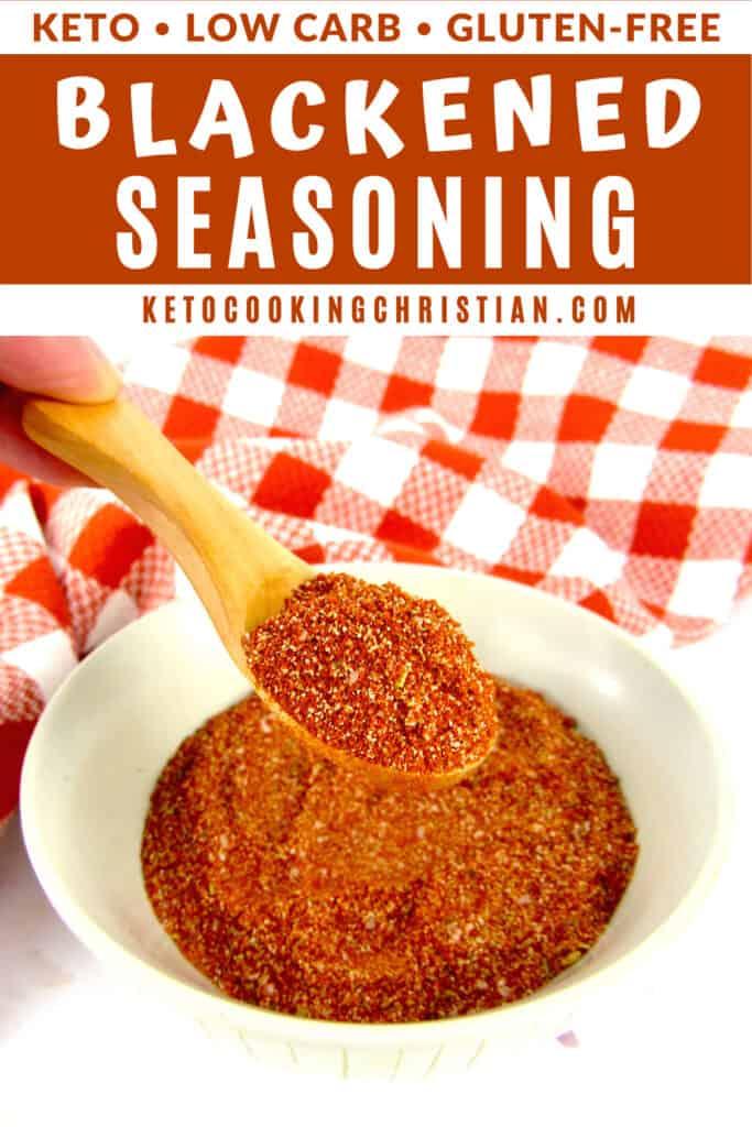 PIN Homemade Blackened Seasoning Mix