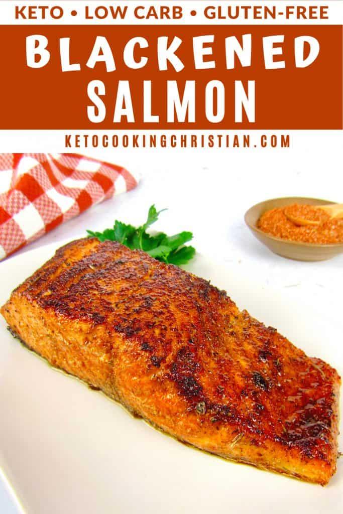 PIN Keto Blackened Salmon