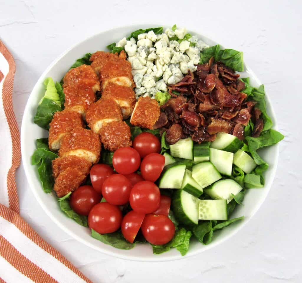 buffalo chicken salad without dressing
