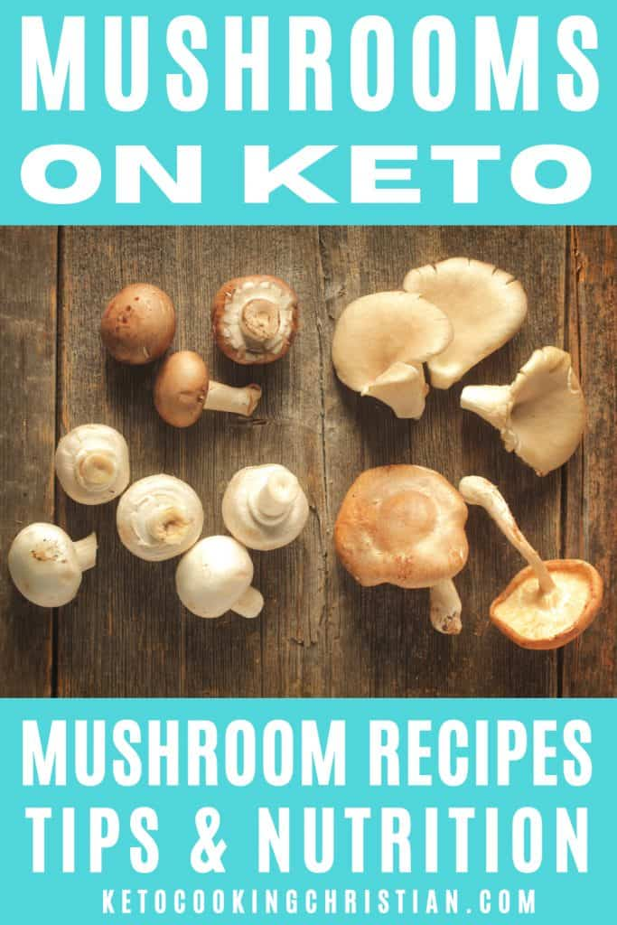 PIN Mushrooms on Keto