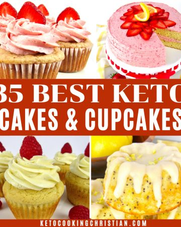 35 Best Keto Cakes and Cupcakes Recipes