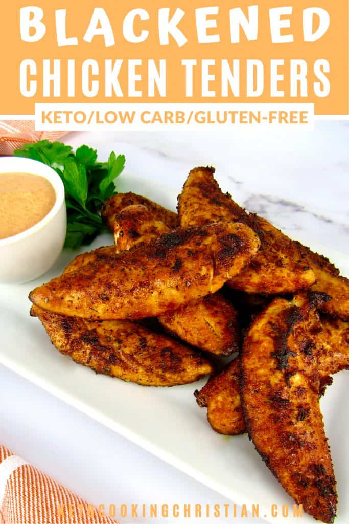 PIN Keto Blackened Chicken Tenders