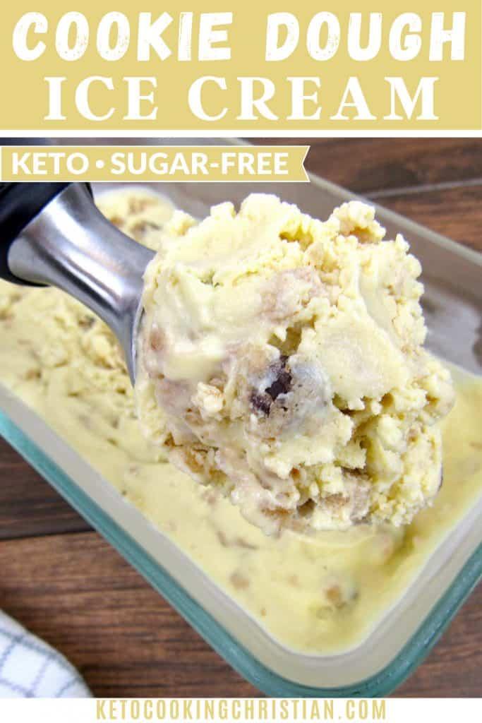 PIN Keto Cookie Dough Ice Cream