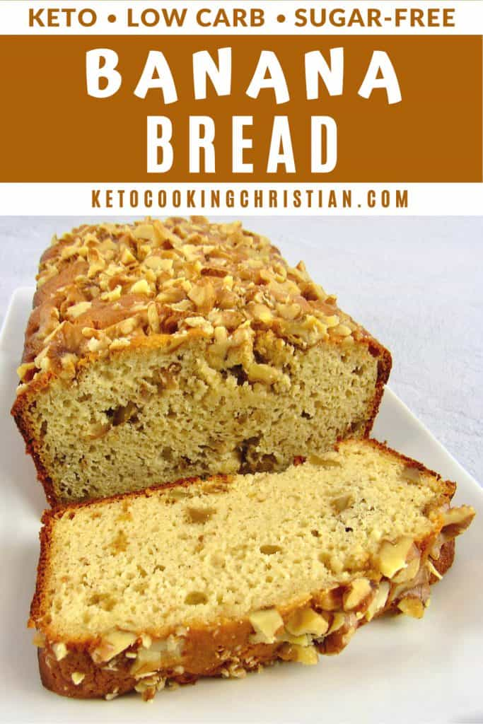 Keto Banana Bread PIN1