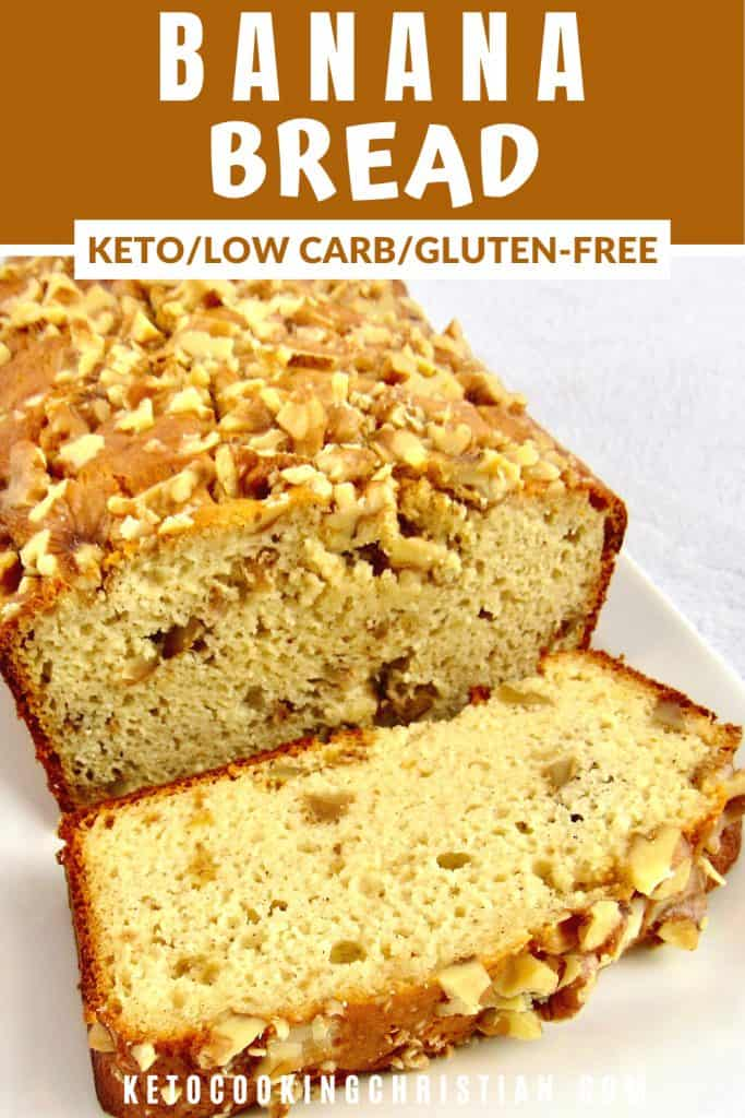 Keto Banana Bread PIN