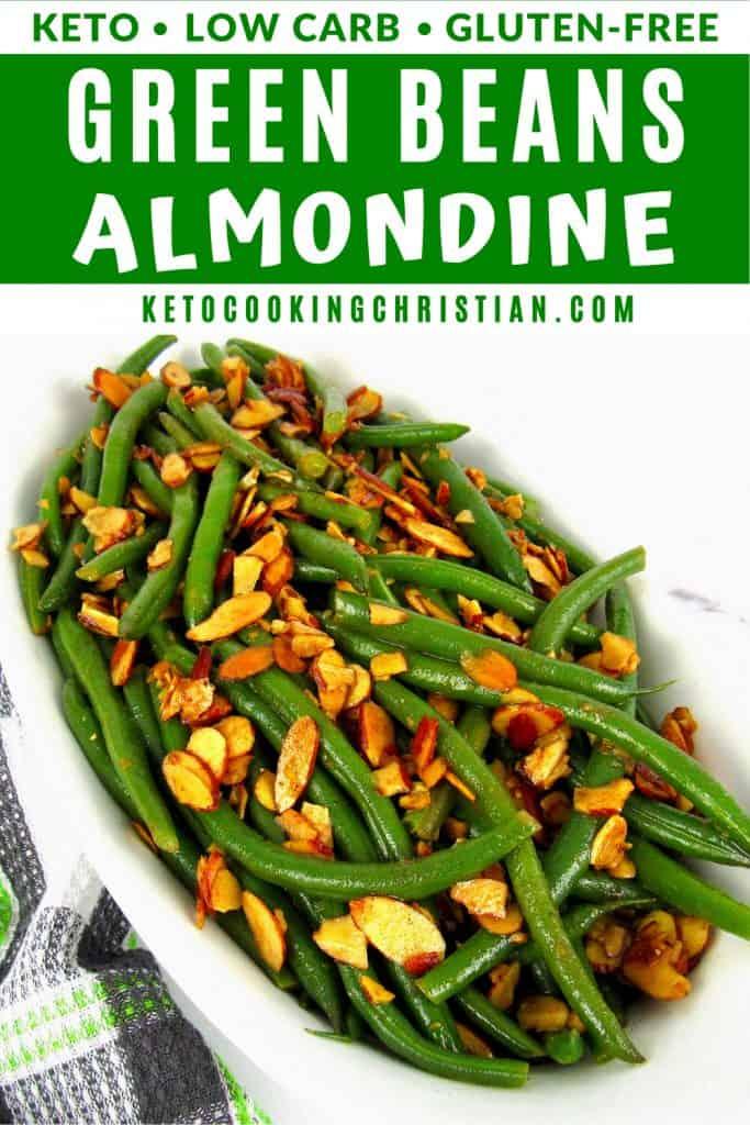 Green Beans Almondine Pin