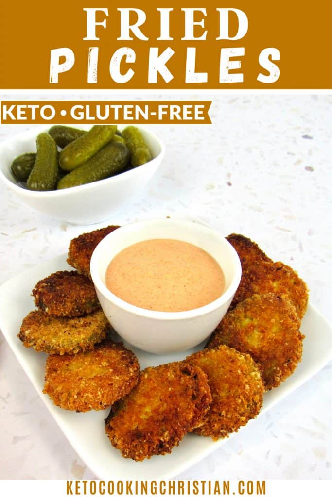 Keto Fried Pickles PIN