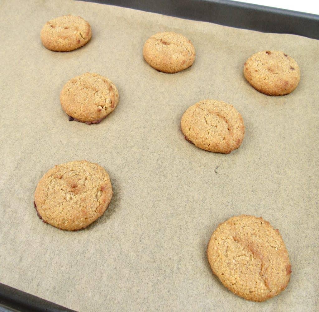 pumpkin whoopie pies baked on sheet pan