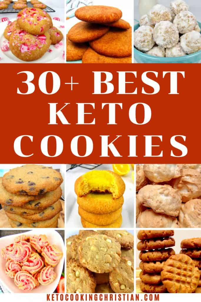 30+ Best Keto Cookies Recipes PIN