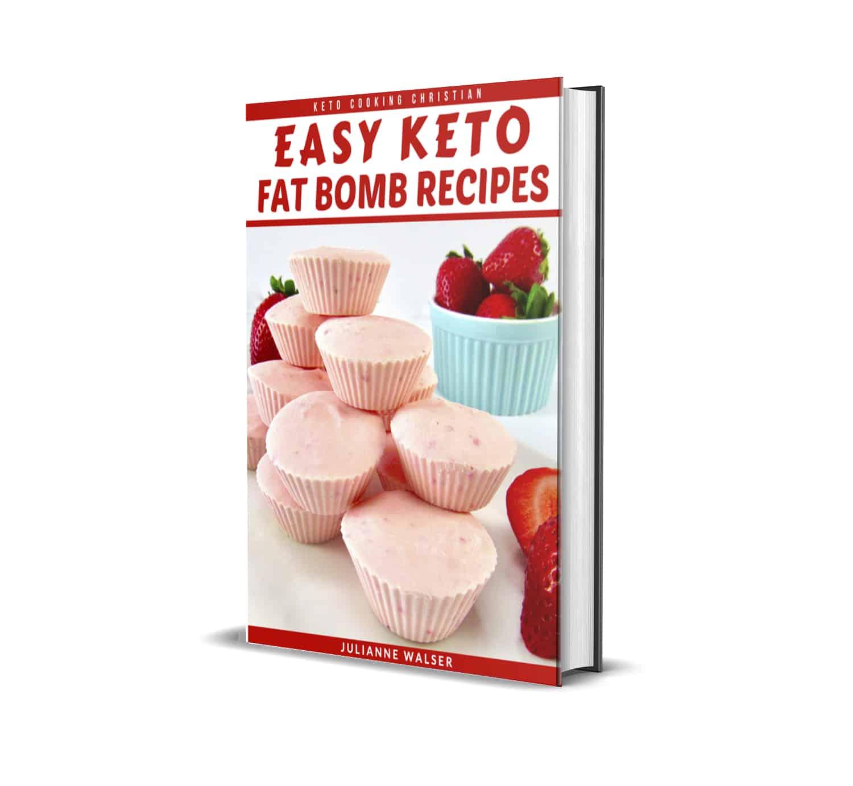 Easy Keto Fat Bomb Recipes eBook 3D Cover