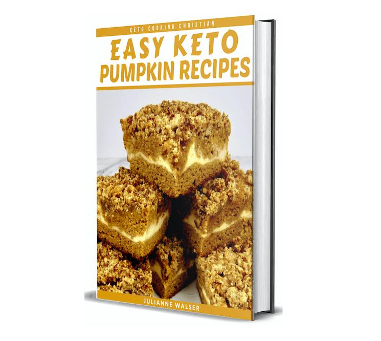 Easy Keto Pumpkin Recipes eBook 3d