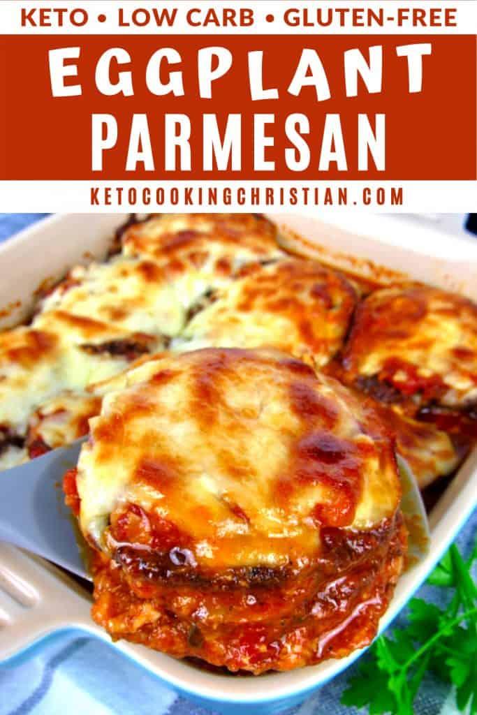 Keto Eggplant Parmesan PIN