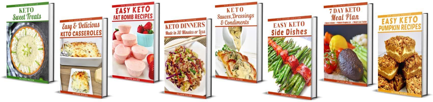 Keto recipe eBooks