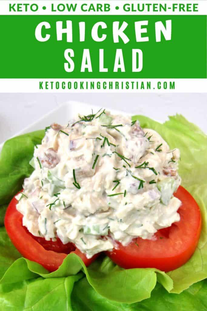 Keto Chicken Salad pin