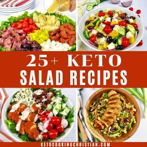 25+ Keto Salad Recipes