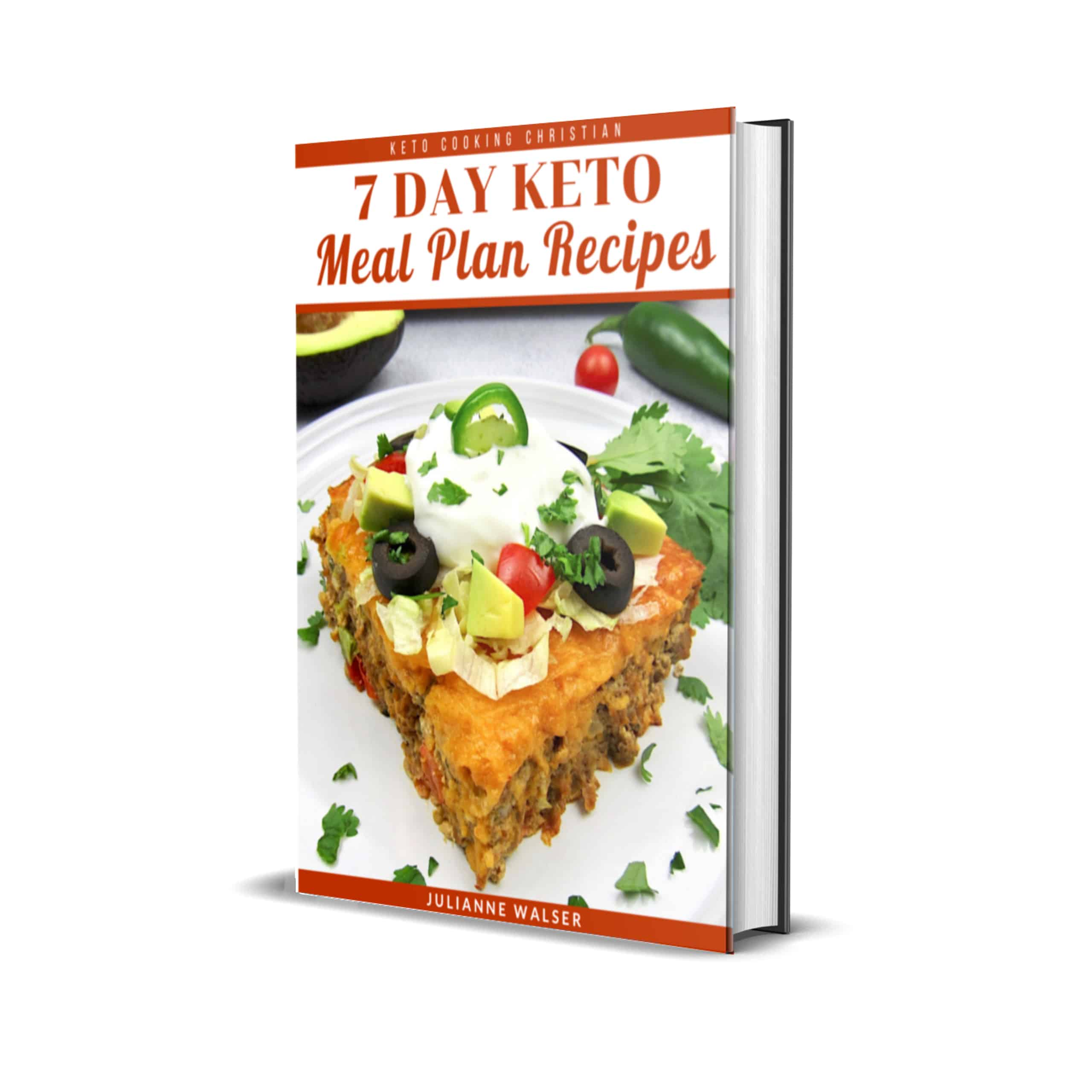 7 Day Meal Plan Recipes Cover