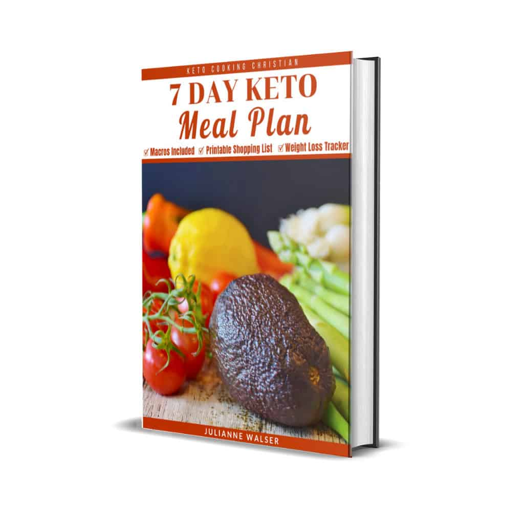 7 Day Meal Plan Recipes eBook Cover