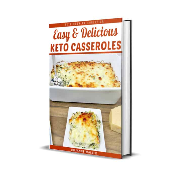 Keto Casseroles eBook Cover