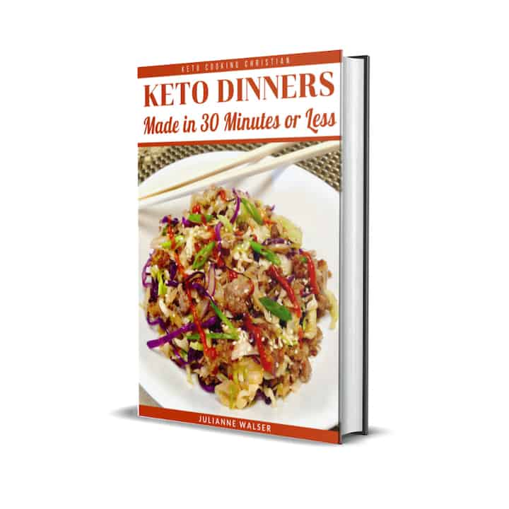 Keto Dinners eBook Cover