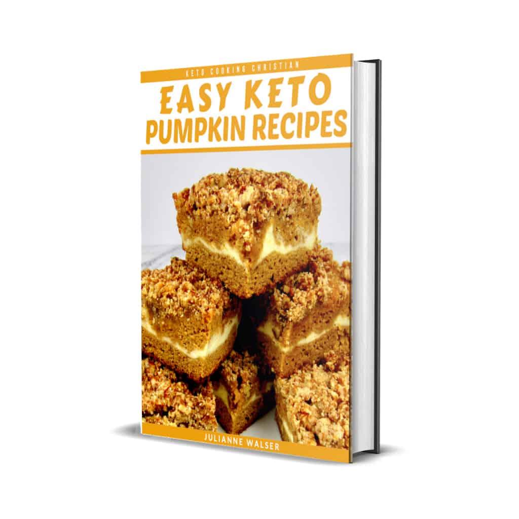 Keto Pumpkin Recipes eBook Cover
