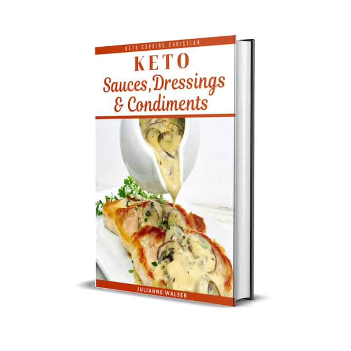 Keto Sauces eBook Cover