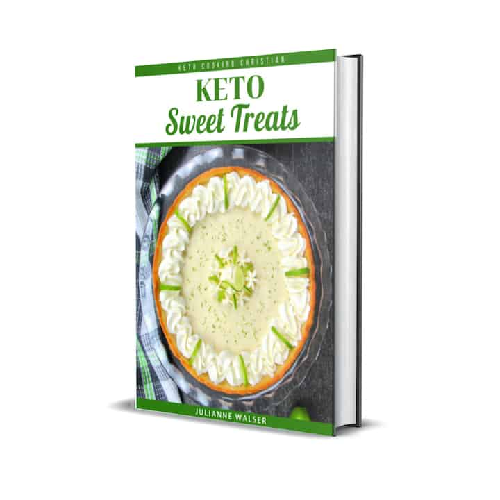 Keto Sweet Treats eBook Cover