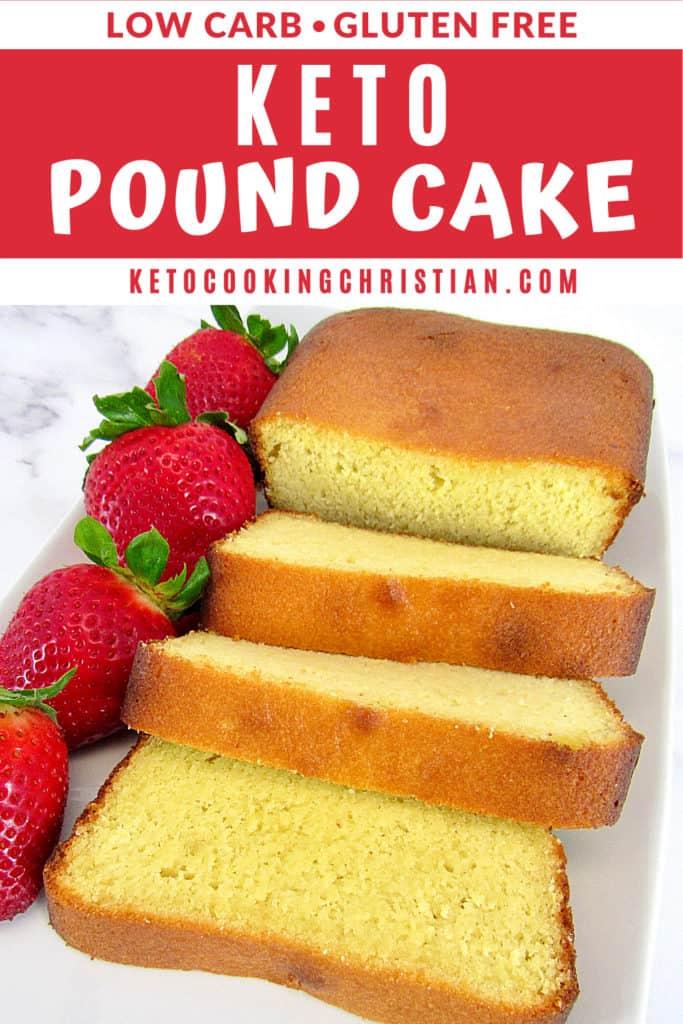 Keto Pound Cake Pin