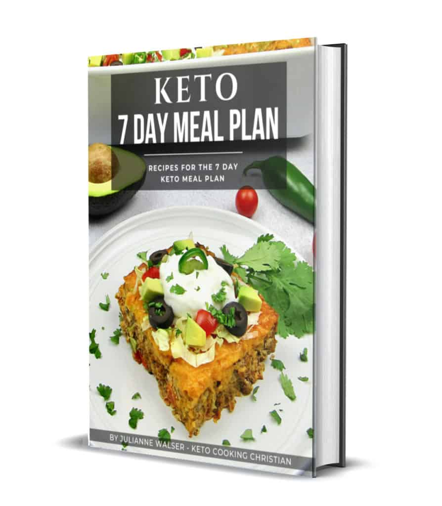 7 Day Meal Plan 3D Cover