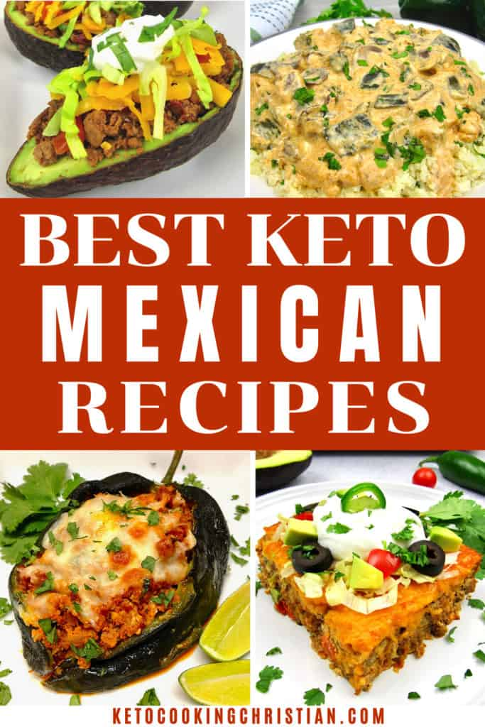 Best Keto Mexican Recipes pin