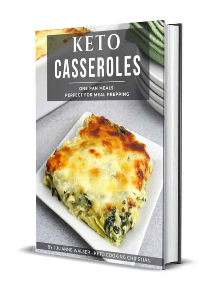 Keto Casseroles 3D Cover
