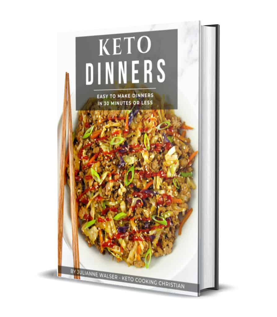 Keto Dinners 3D Cover