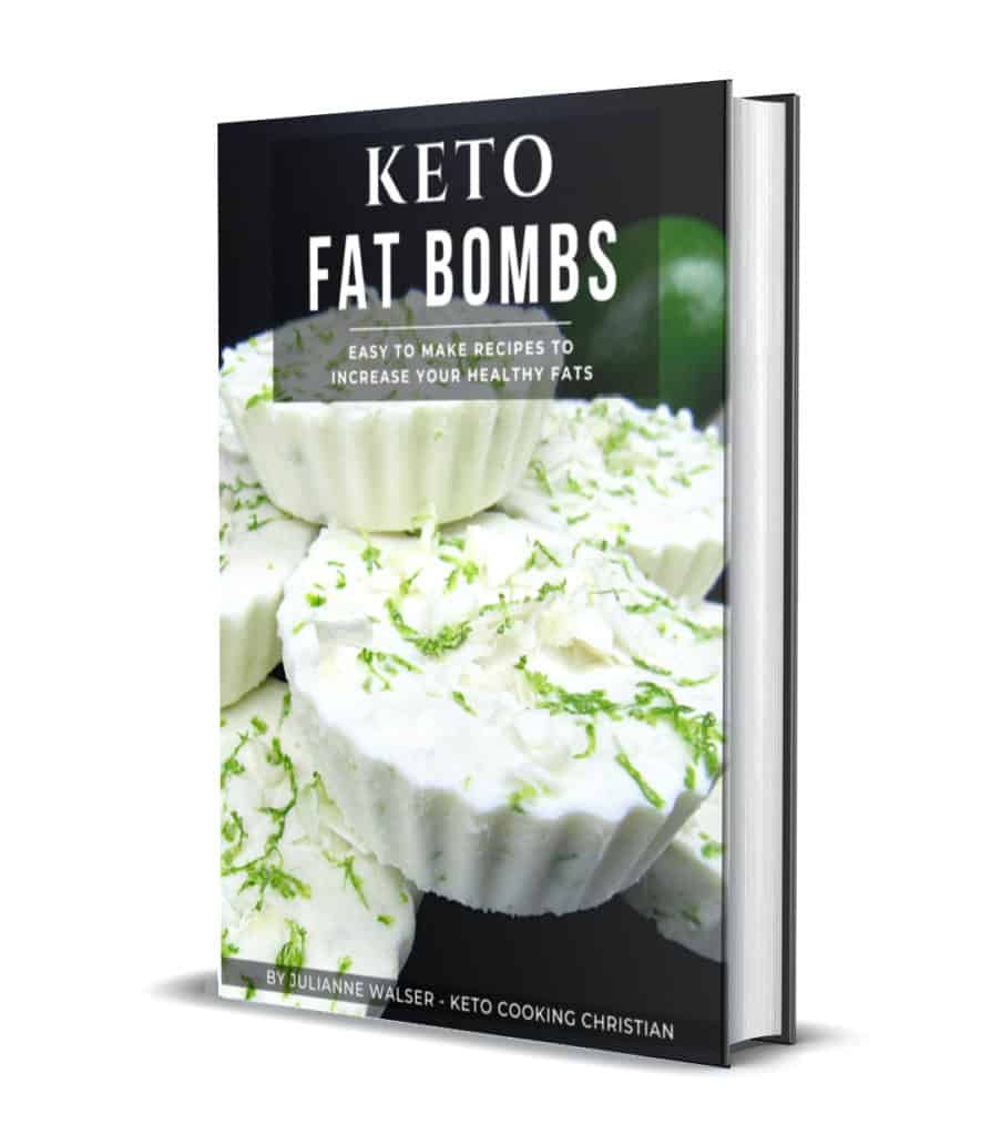 Keto Fat Bombs 3D Cover