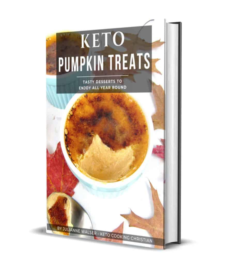 Keto Pumpkin Treats 3D Cover