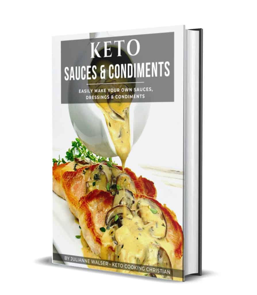 Keto Sauces & Condiments 3D Cover