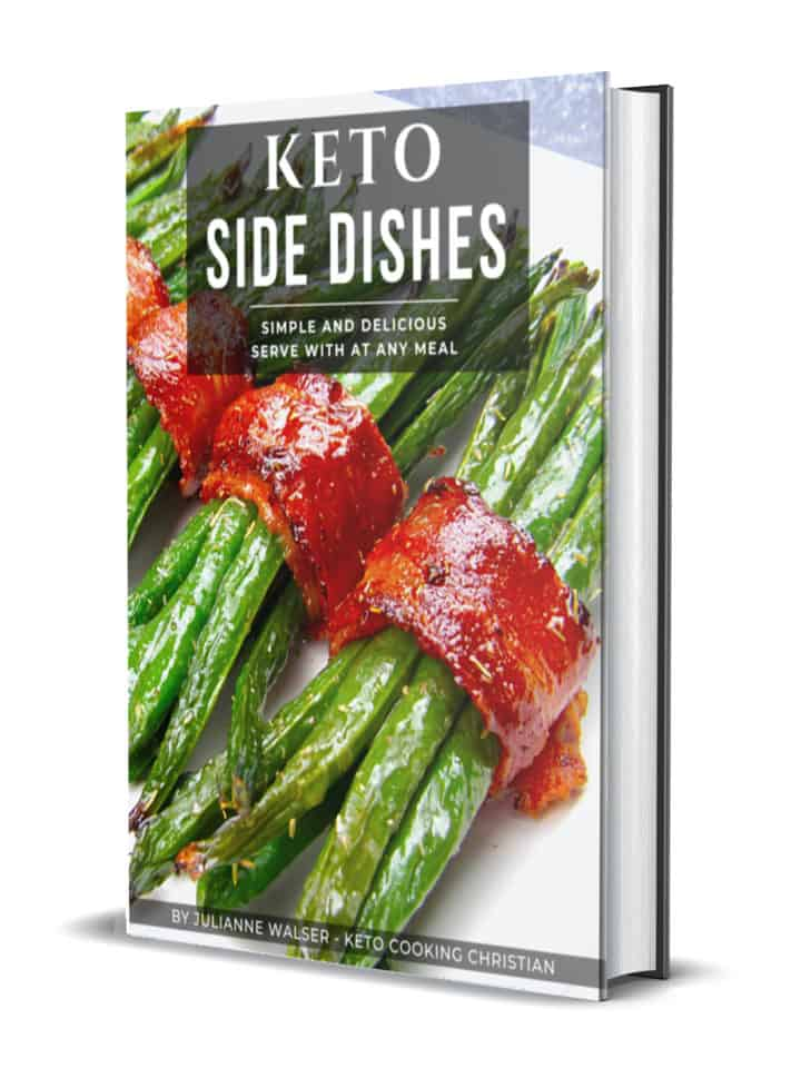Keto Side Dishes 3D Cover