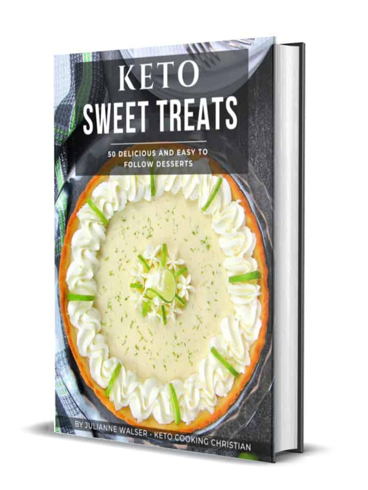 Keto Sweet Treats 3D Cover