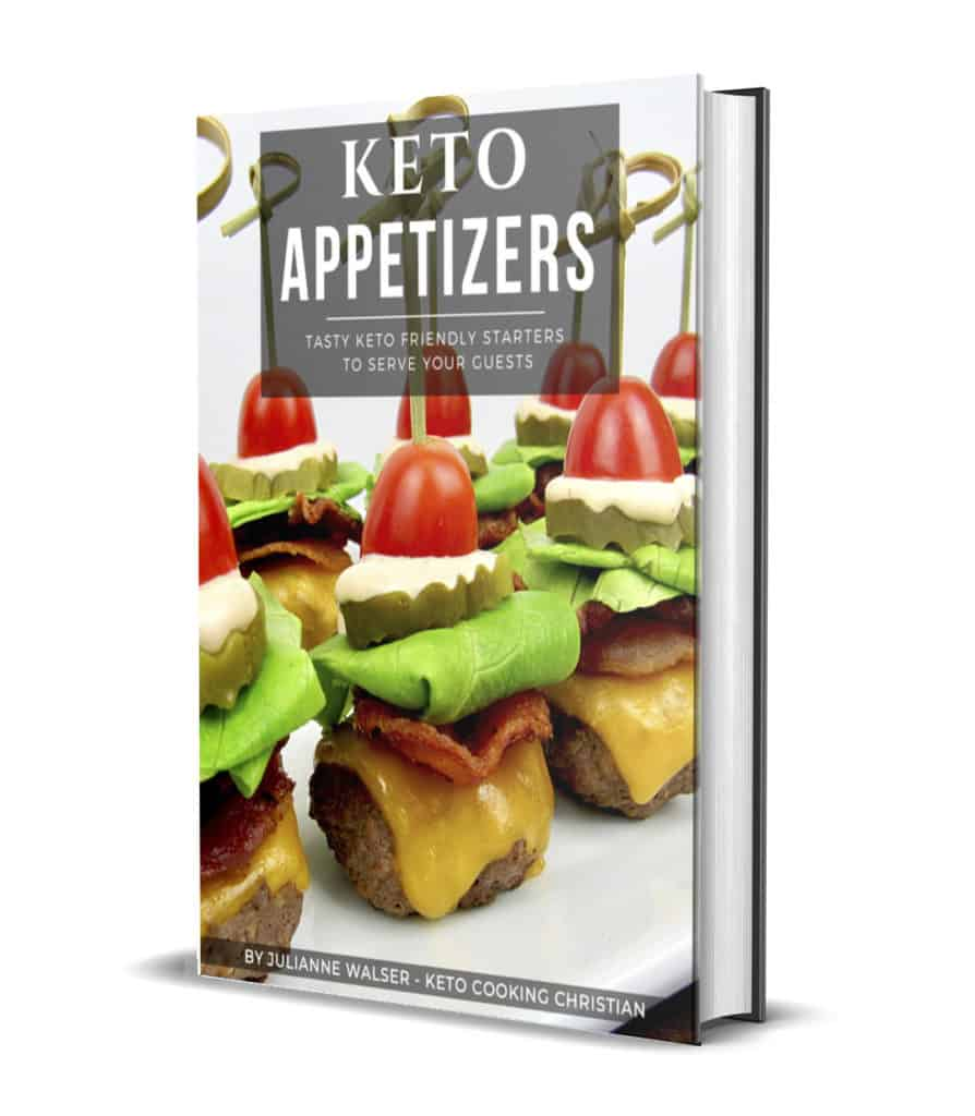 Keto Appetizers eBook 3D Cover