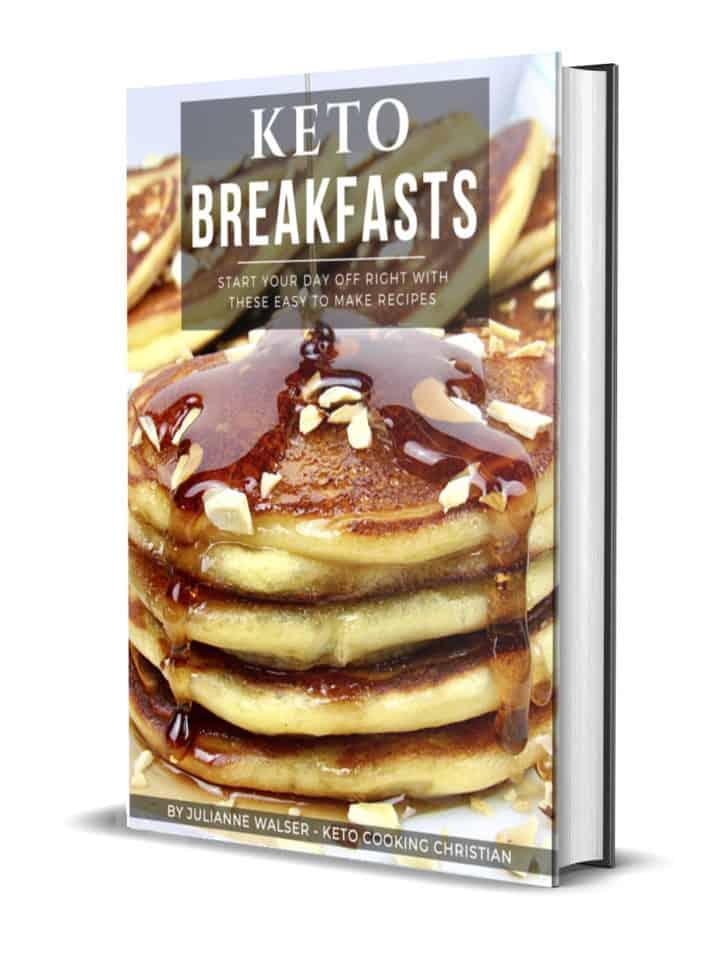 Keto Breakfast 3D Cover