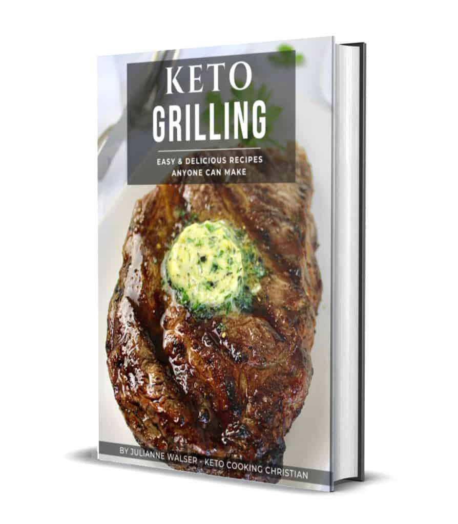 Keto Grilling Recipes eBook cover