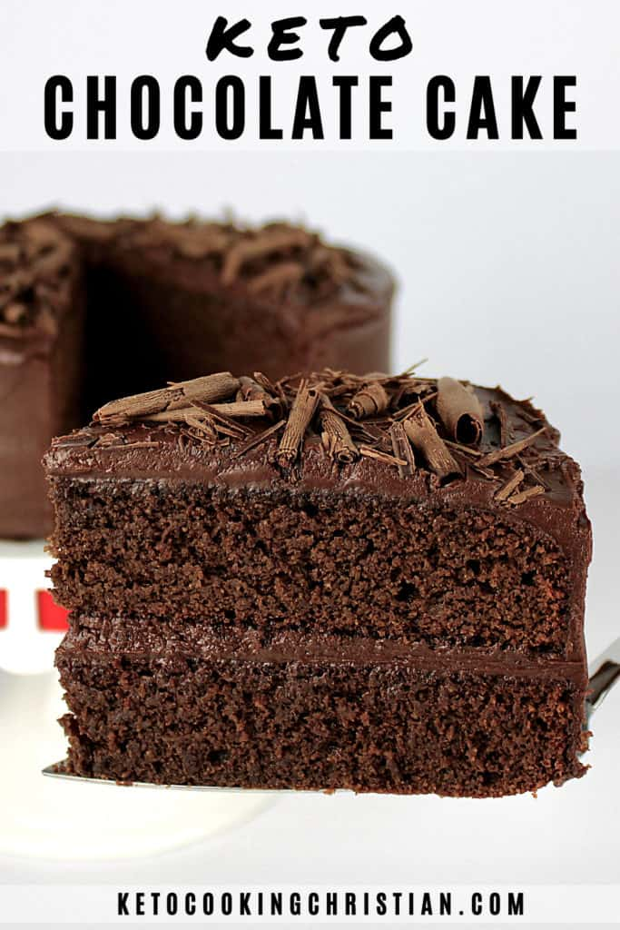 Keto Chocolate Cake Pin