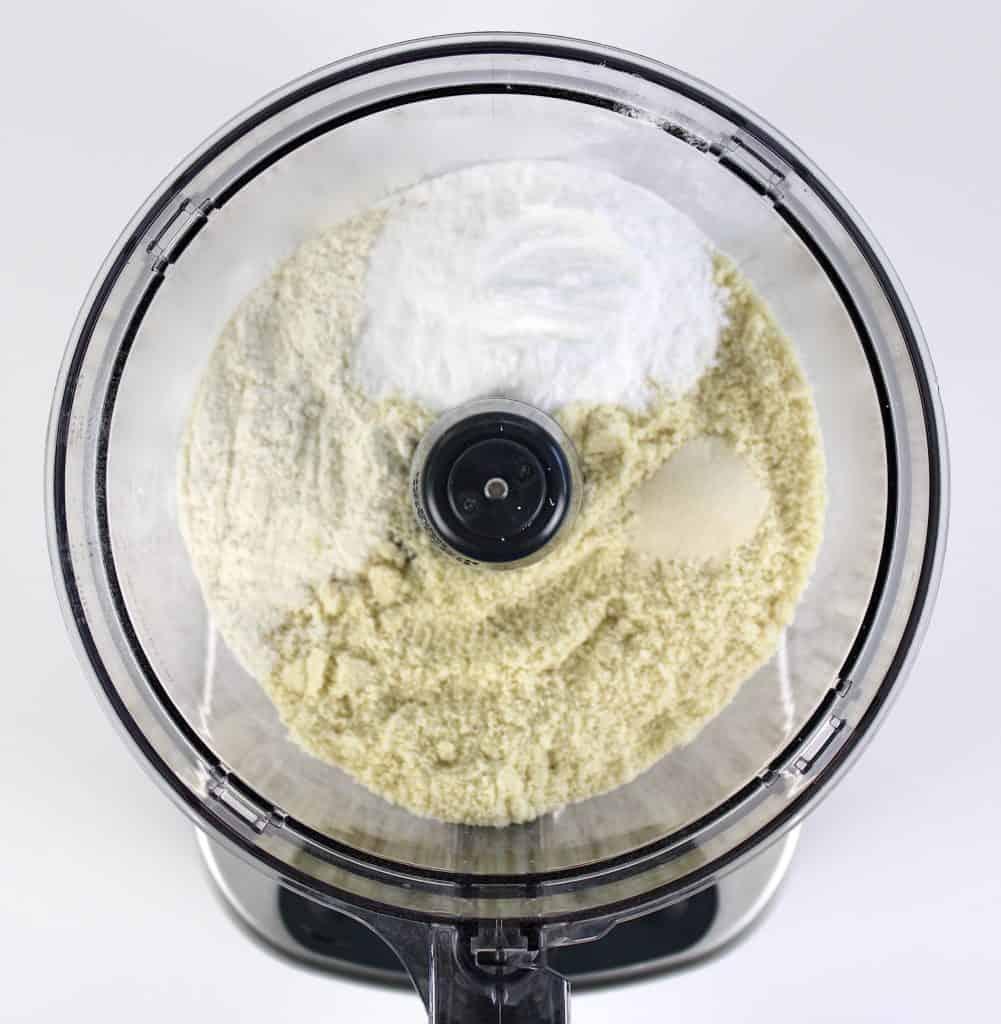 pie crust dry ingredients in food processor