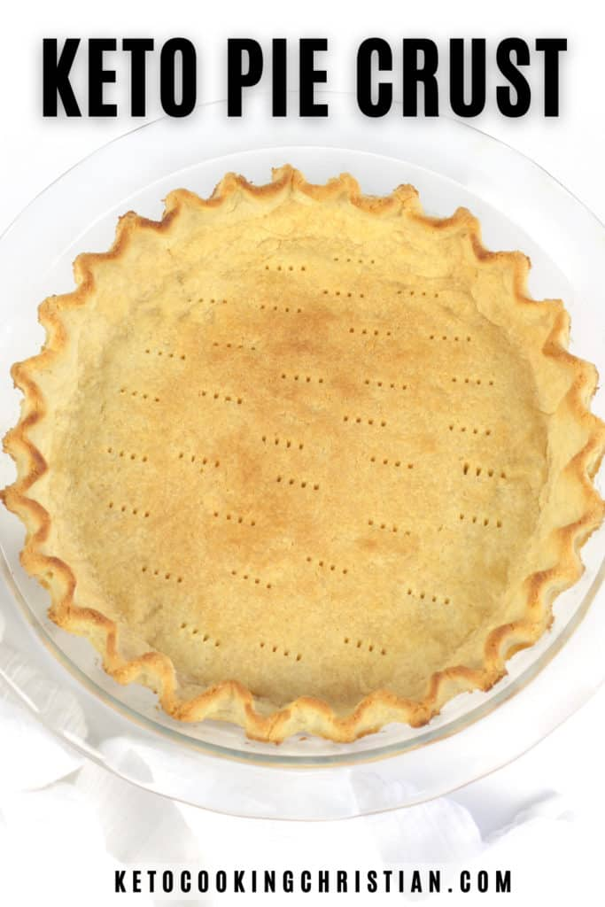 Keto Pie Crust Pin